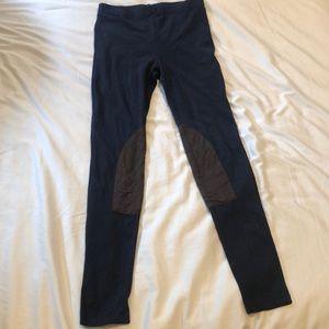 Lauren Ralph Lauren navy leggings with patches